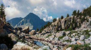 Montagne du Mercantour.