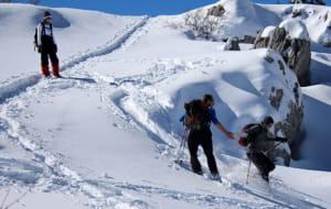 Les sports de neige dans les Alpes-Maritimes.