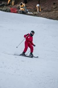 Skieur débutant