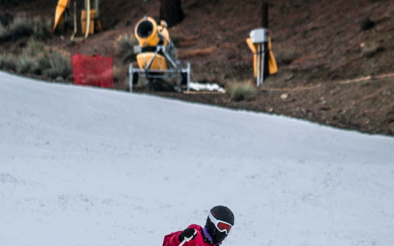 Débutant en ski