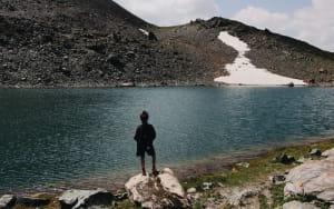 Lac d'altitude.